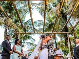 O casamento de Isabel e Edson
