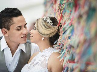 O casamento de Katlle Ferraz Santana e Wellington Santana