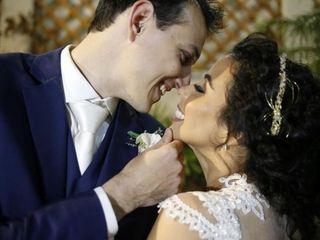 O casamento de Leandro e Joana