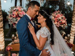 O casamento de Tatiana e Hugo