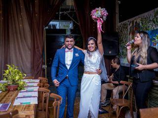 O casamento de Beatriz e Júlio