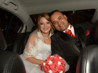 O casamento de Alline e Alex