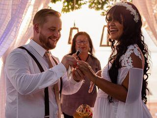 O casamento de Thaline e Jukka
