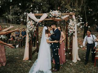 O casamento de Elisa e Vinicius