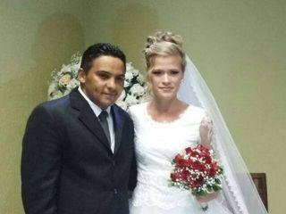 O casamento de Deusimar Aquino e Gessyca steinheuser 2