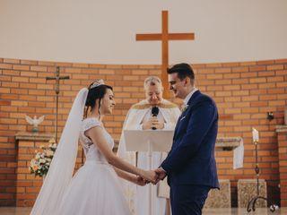 O casamento de Franciele e Ricardo