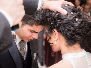 O casamento de Daniele e Marcos