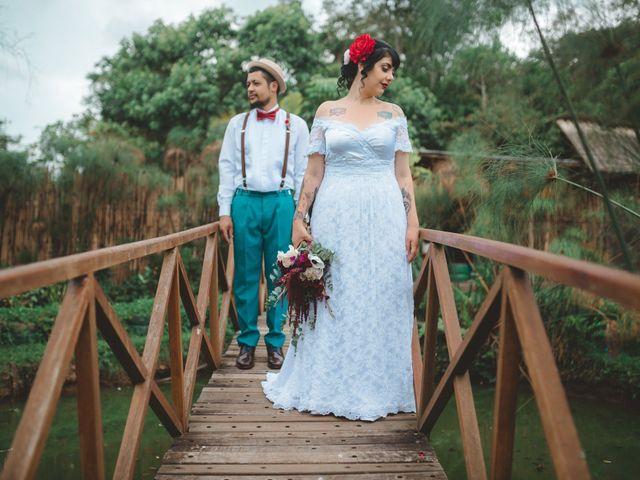 O casamento de Larissa e Cássio