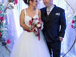 O casamento de Solange  e Henrique