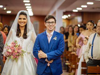 O casamento de Roberta e Nicolas