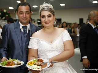 O casamento de Pássyma  e Karlucio