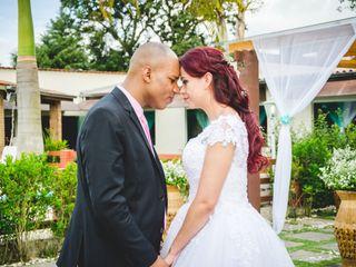 O casamento de Danubia e Ailson