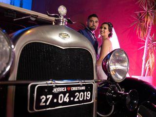 O casamento de Jessica e Cristiano