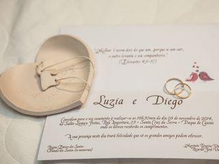 O casamento de Luzia e Diego 1