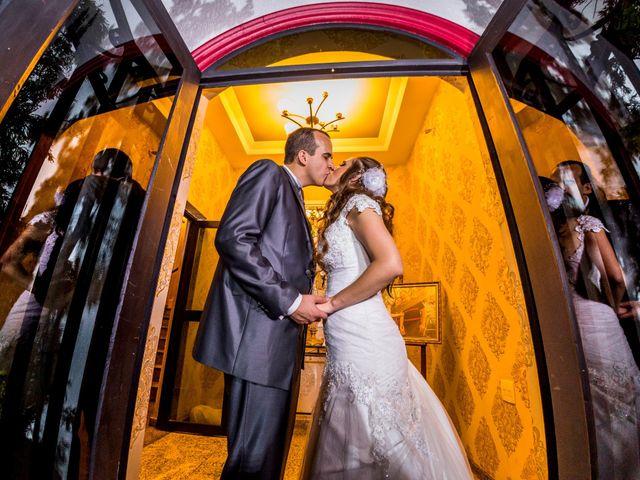 O casamento de Alessandra e Rubem