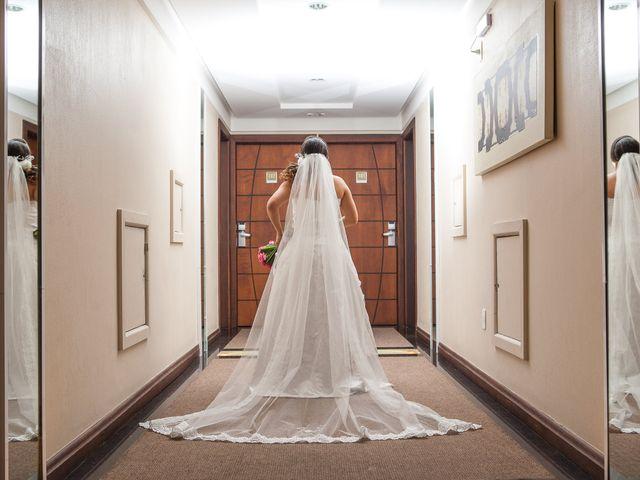 O casamento de Luzia e Diego