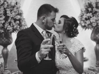 O casamento de Luana e Vitor