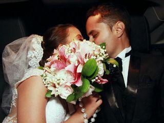 O casamento de Gisely e Robson