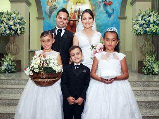 O casamento de Gisely e Robson 2