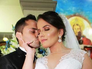 O casamento de Gisely e Robson 3