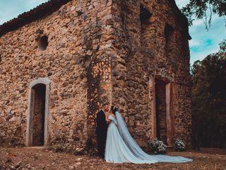 O casamento de Gabrielli e Carlito