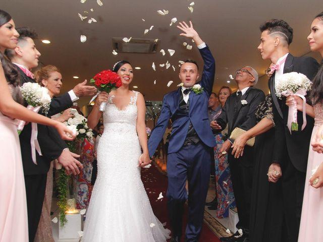 O casamento de Monique e Rogerio