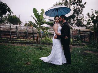 O casamento de Ingrid e Erlan