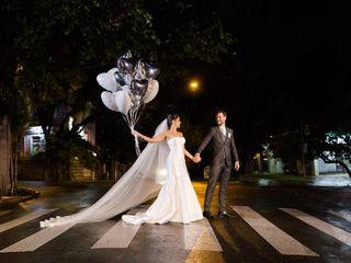 O casamento de Alessandra e Rodrigo