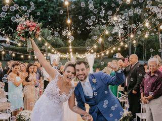O casamento de Luciana e Hugo