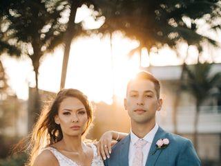 O casamento de Nay e Othon