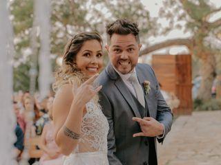 O casamento de Roberta e Sinval