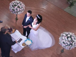 O casamento de Liliane e Josias