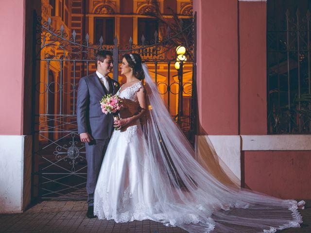 O casamento de Karen e André