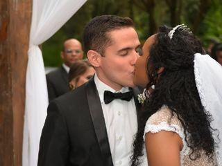 O casamento de Kadija e João