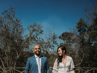O casamento de Fernando e Raquel
