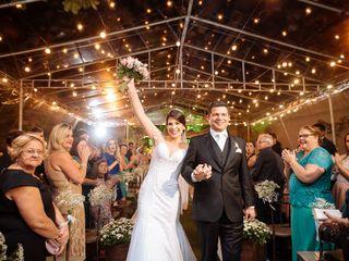 O casamento de Lissandra e Giulino
