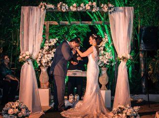 O casamento de Angelita e Glayson