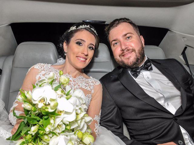 O casamento de Aline e Michel