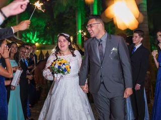 O casamento de Henrique e Natali