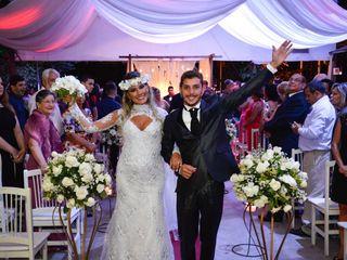 O casamento de Aline e Pitter
