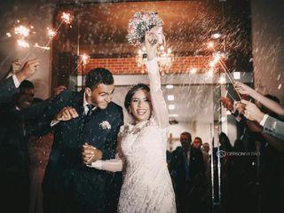 O casamento de Sarah  e Leyvison