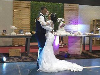 O casamento de Sarah  e Leyvison  3