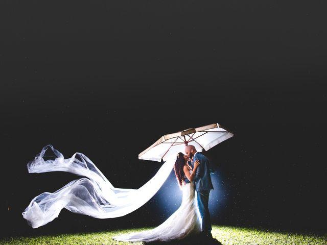 O casamento de Aline e Dorian