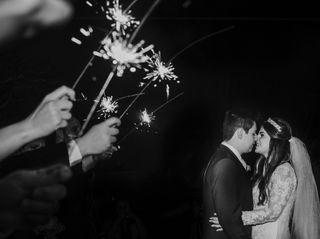 O casamento de Luciana e Júnior