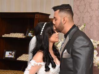 O casamento de Adriana e Everton