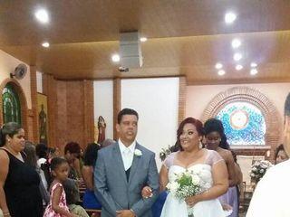 O casamento de Mariama e Junio 1