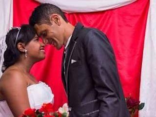 O casamento de Evelyn  e André 1