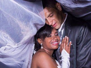 O casamento de Evelyn  e André