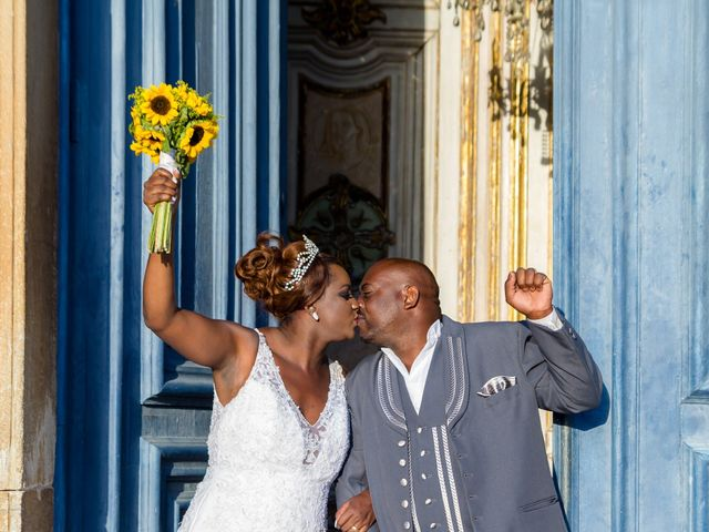 O casamento de Tatiane e Moacir