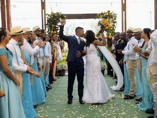 O casamento de Wilma e Anderson
